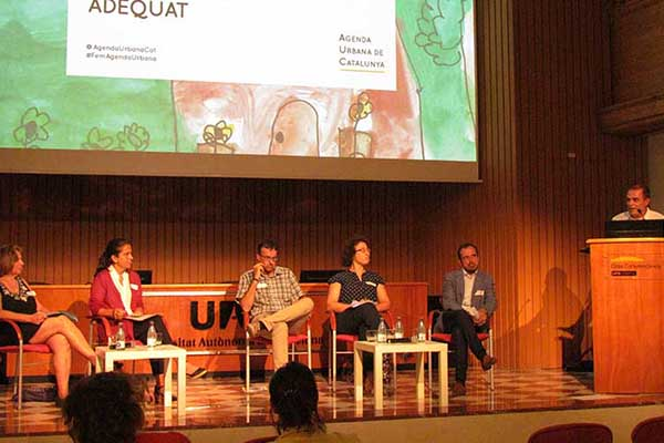 Face-to-face sessions of the Catalan Urban Agenda