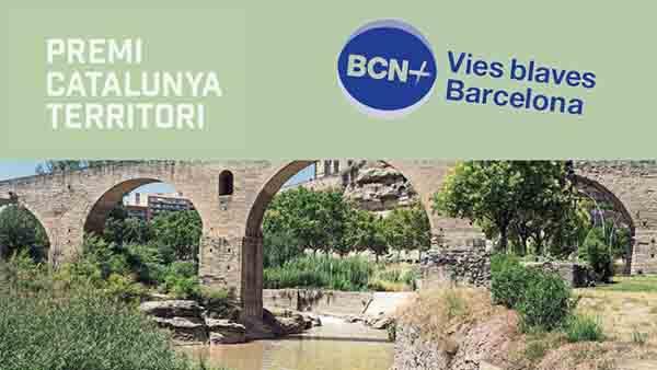 The Master Plan Vies Blaves Barcelona wins the 2020 Premi Catalunya d'Urbanisme Manel de Solà Morales, awarded by the Societat Catalana d'Ordenació del Territori (Institut d'Estudis Catalans)